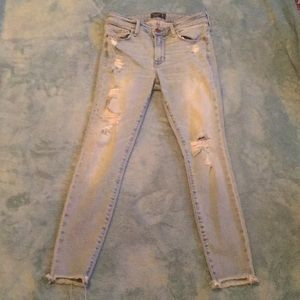 Abercrombie and Fitch Harper ankle jeans